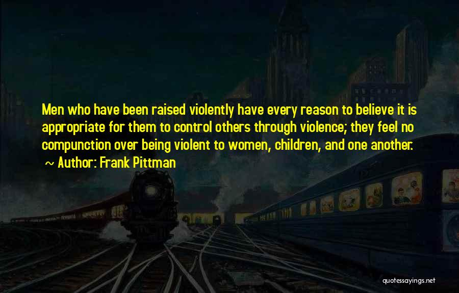 Control Over Others Quotes By Frank Pittman