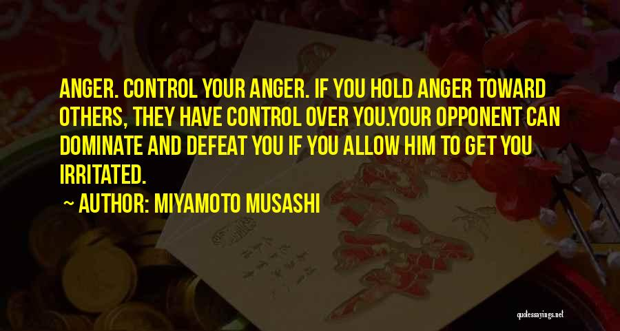 Control Over Others Quotes By Miyamoto Musashi