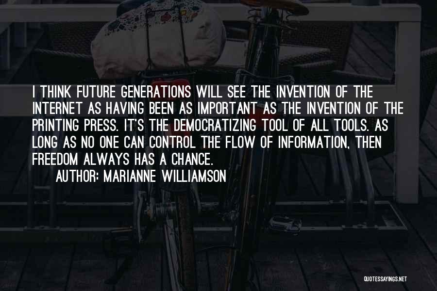 Control The Press Quotes By Marianne Williamson