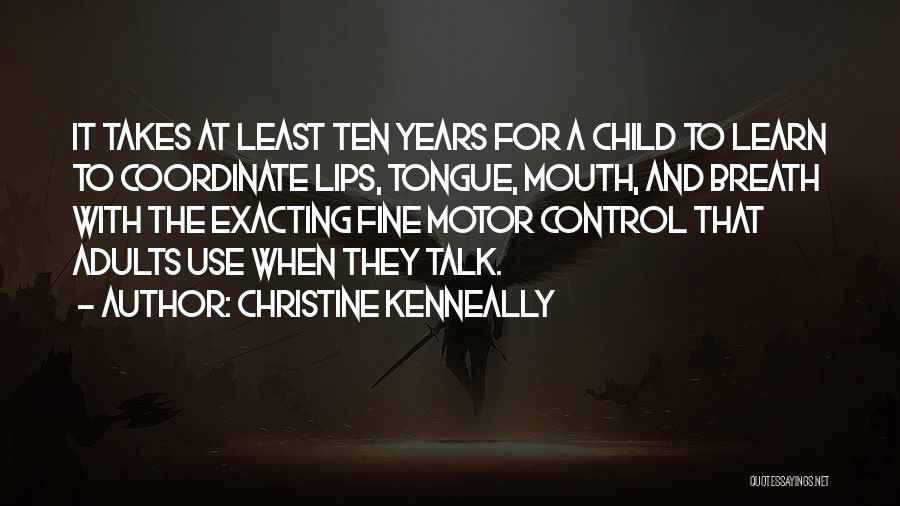 Control The Tongue Quotes By Christine Kenneally