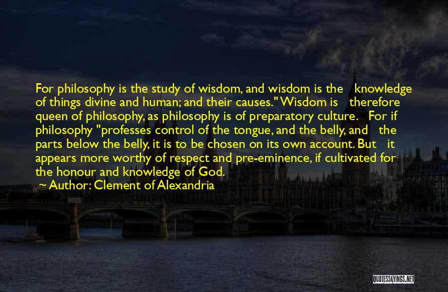 Control The Tongue Quotes By Clement Of Alexandria
