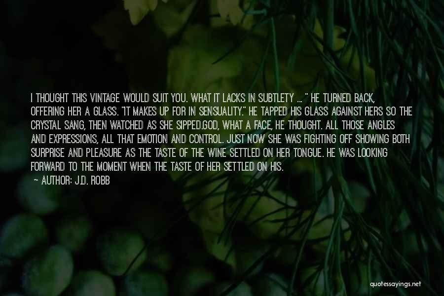 Control The Tongue Quotes By J.D. Robb