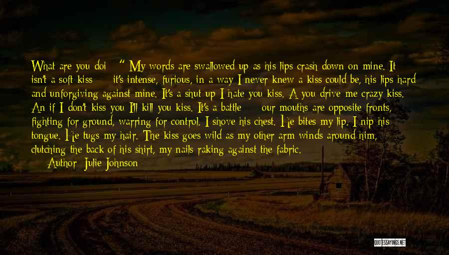Control The Tongue Quotes By Julie Johnson