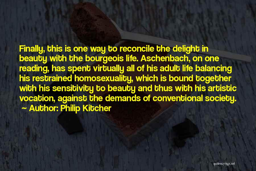 Conventional Beauty Quotes By Philip Kitcher