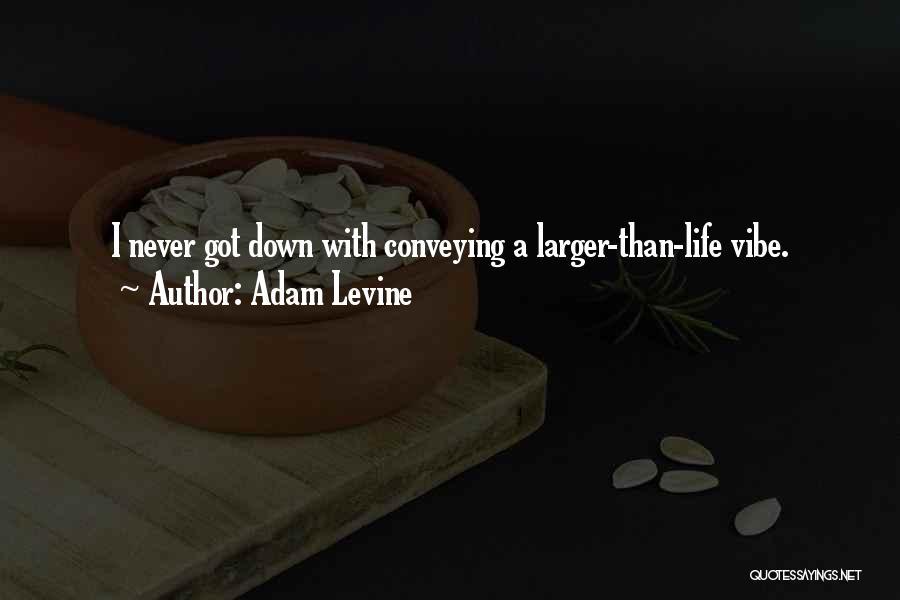 Conveying Quotes By Adam Levine