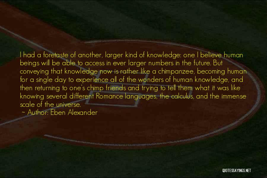 Conveying Quotes By Eben Alexander
