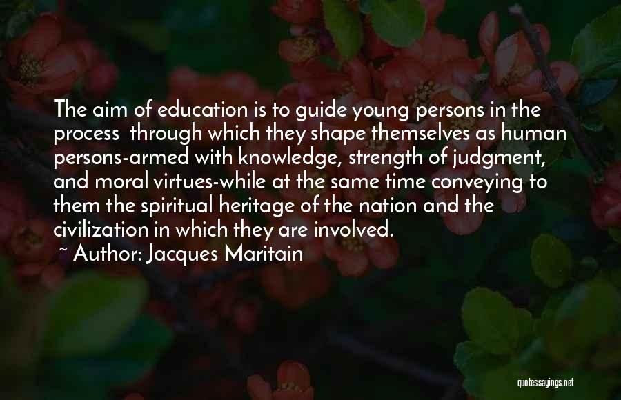 Conveying Quotes By Jacques Maritain