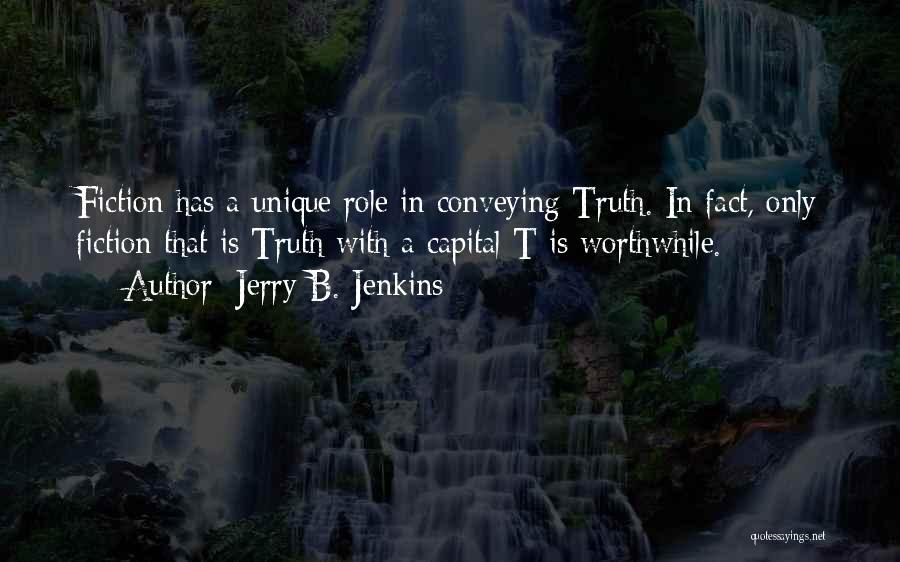 Conveying Quotes By Jerry B. Jenkins