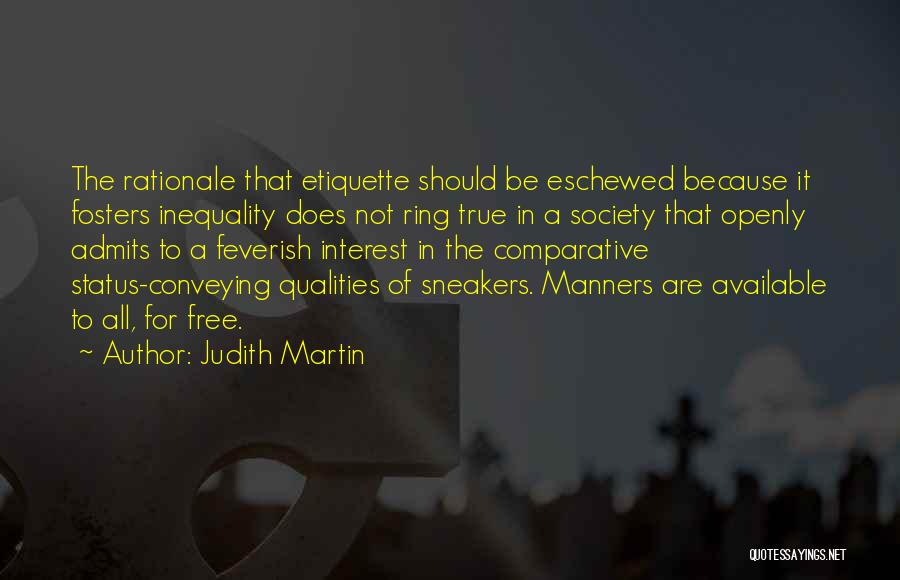 Conveying Quotes By Judith Martin