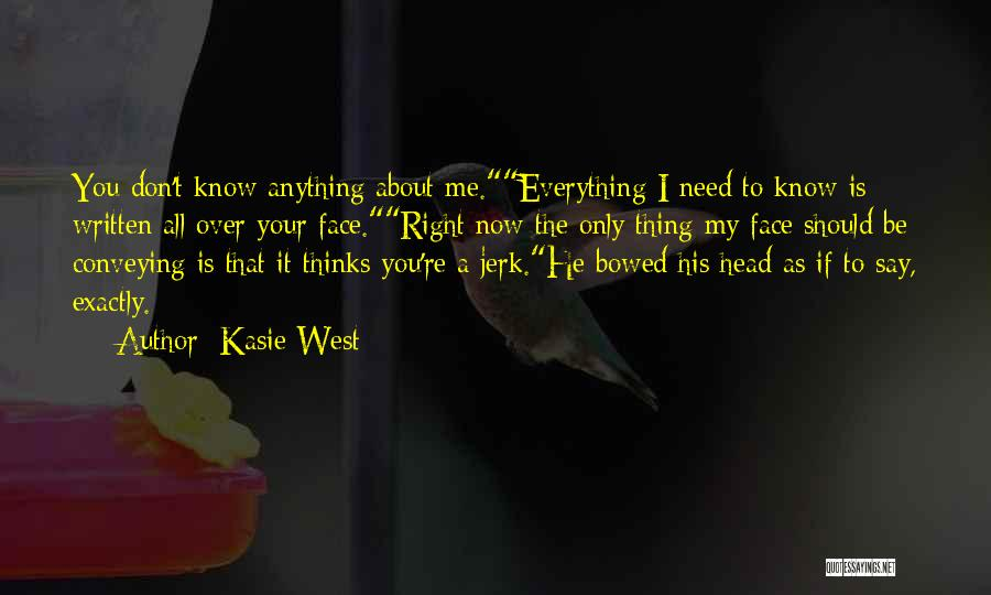 Conveying Quotes By Kasie West