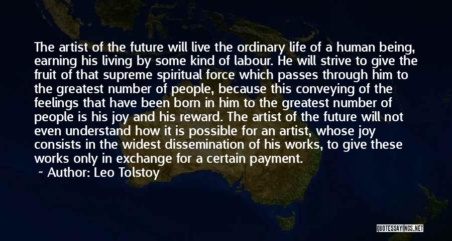Conveying Quotes By Leo Tolstoy