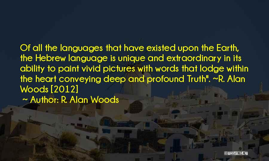 Conveying Quotes By R. Alan Woods
