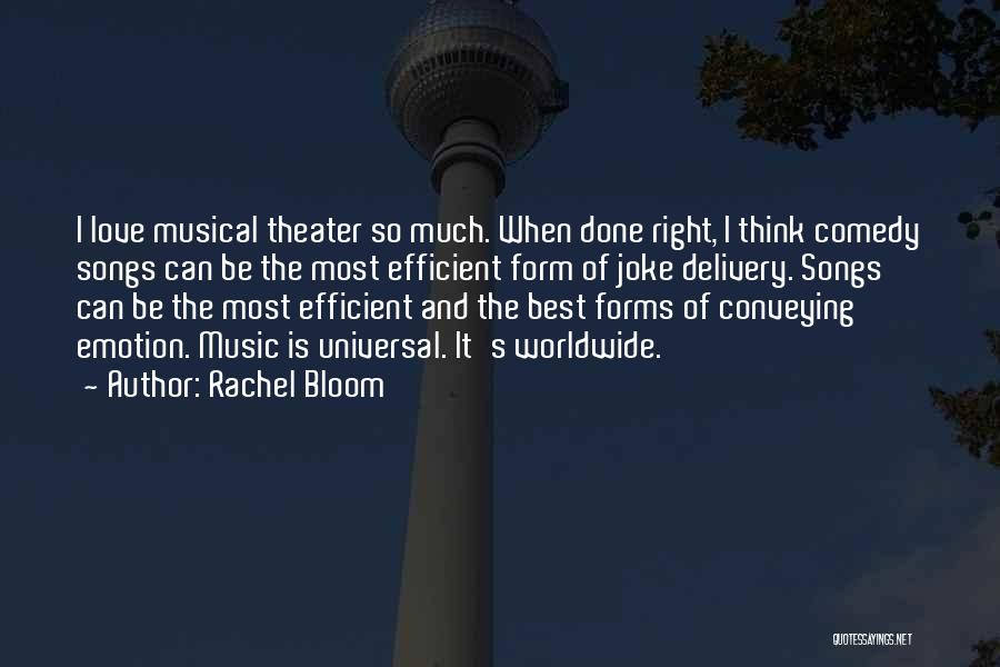 Conveying Quotes By Rachel Bloom