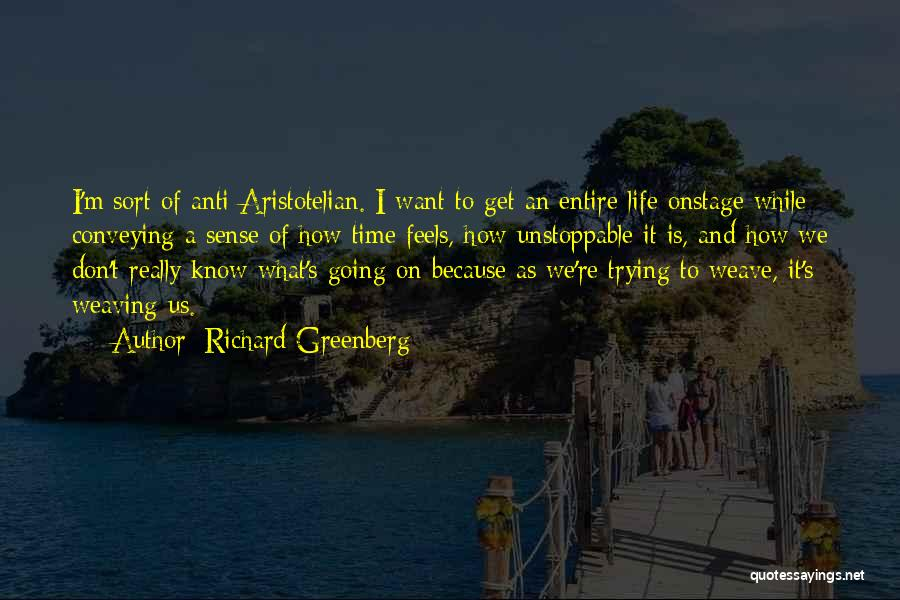 Conveying Quotes By Richard Greenberg