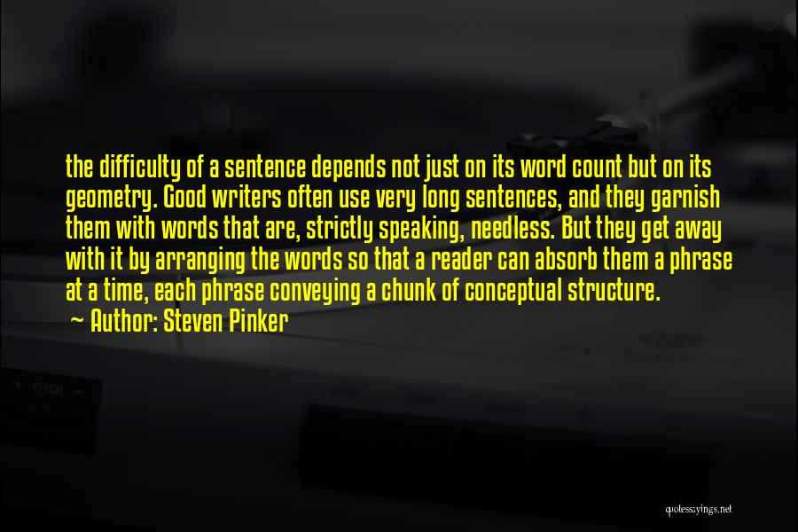 Conveying Quotes By Steven Pinker