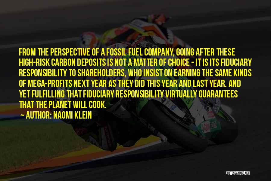 Cook And Naomi Quotes By Naomi Klein