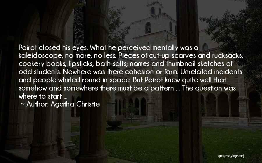 Cookery Quotes By Agatha Christie