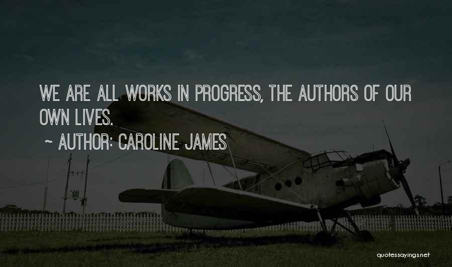 Cookery Quotes By Caroline James