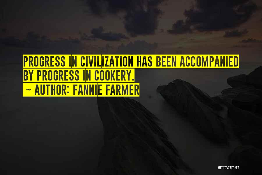 Cookery Quotes By Fannie Farmer