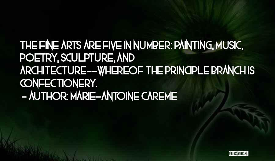Cookery Quotes By Marie-Antoine Careme
