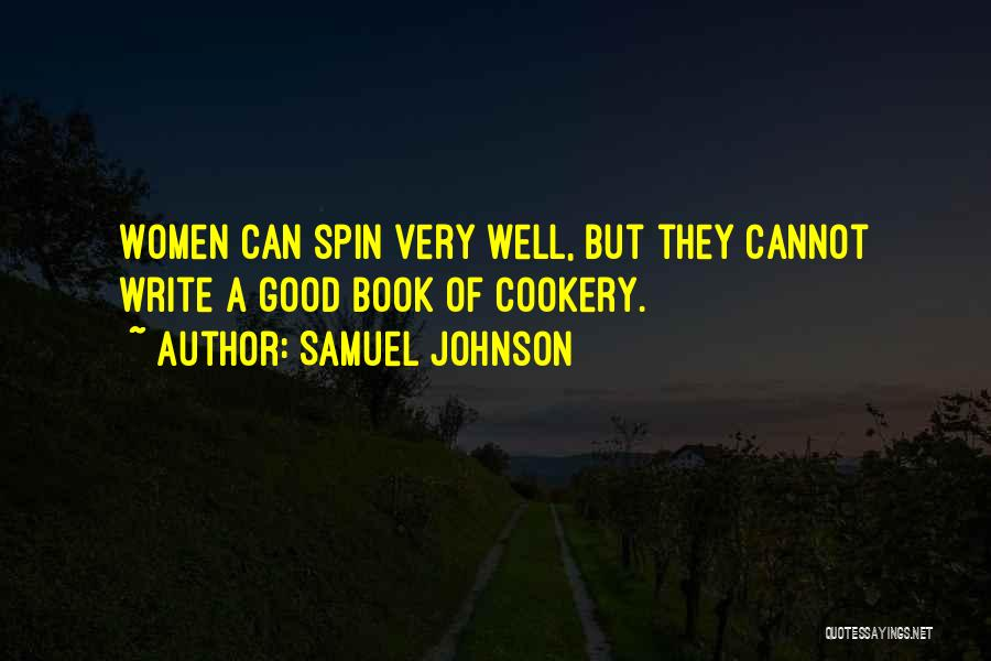 Cookery Quotes By Samuel Johnson