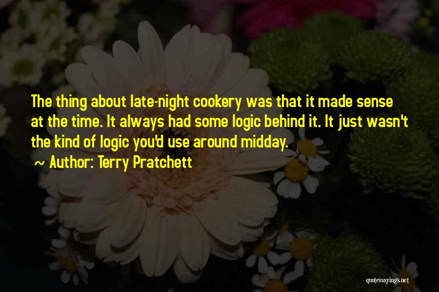 Cookery Quotes By Terry Pratchett