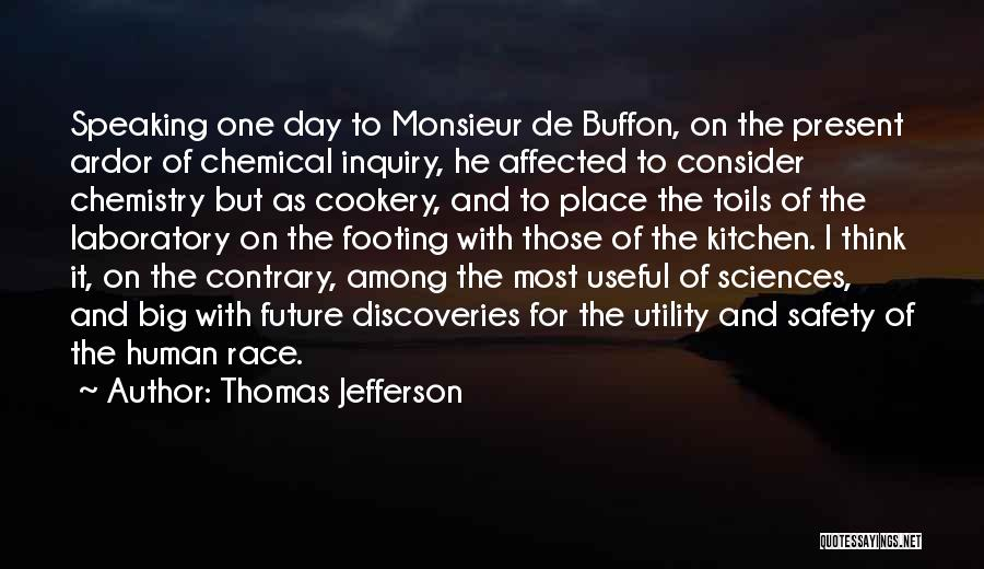 Cookery Quotes By Thomas Jefferson