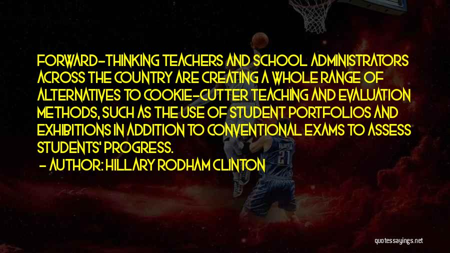 Cookie Cutter Quotes By Hillary Rodham Clinton