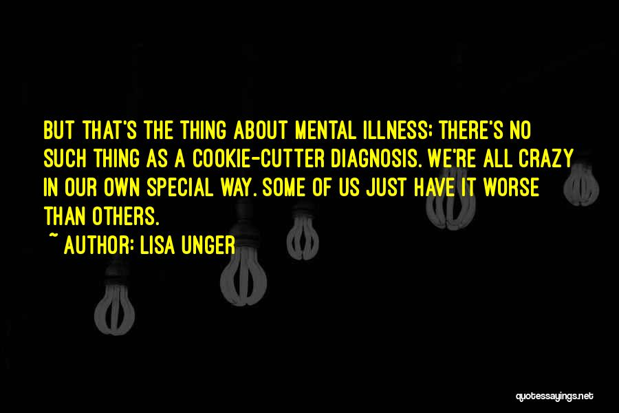 Cookie Cutter Quotes By Lisa Unger