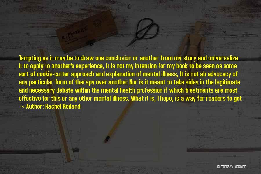 Cookie Cutter Quotes By Rachel Reiland