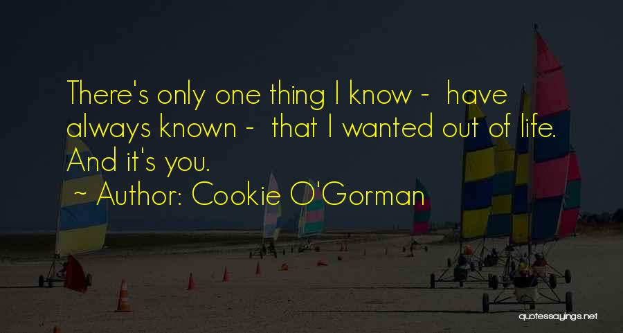 Cookie O'Gorman Quotes 1210796