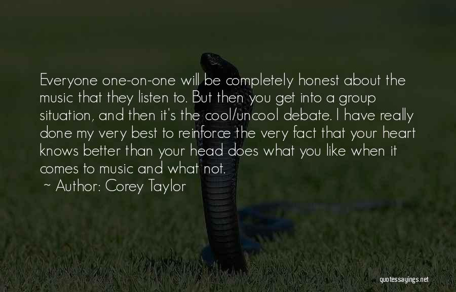Cool Debate Quotes By Corey Taylor