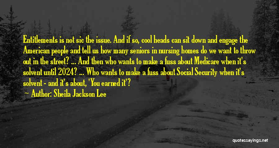 Cool Heads Quotes By Sheila Jackson Lee