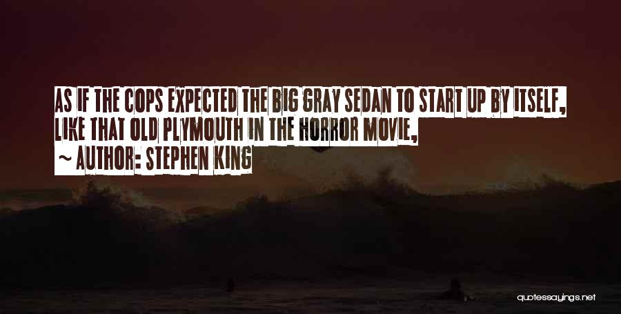 Cops Quotes By Stephen King