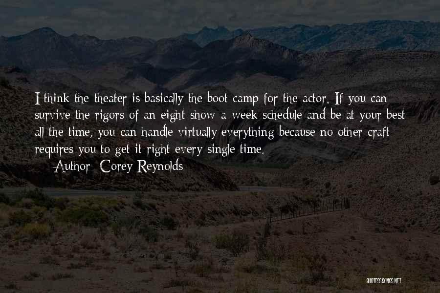 Corey Reynolds Quotes 1487098