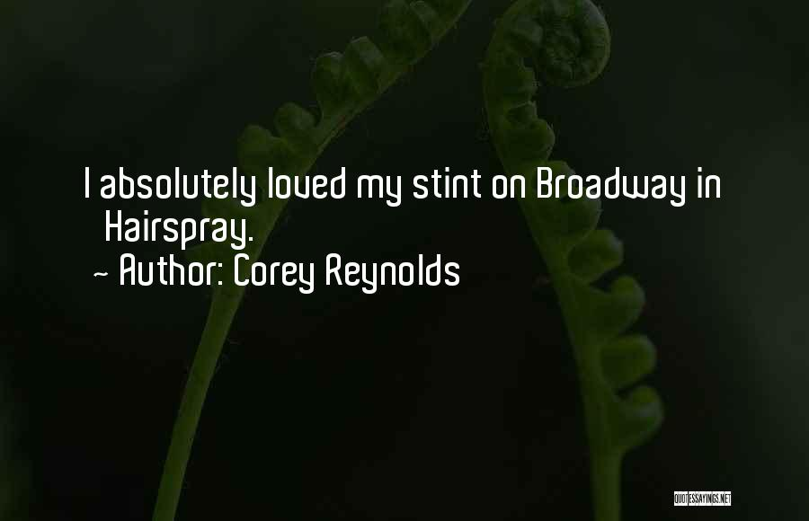 Corey Reynolds Quotes 1537958