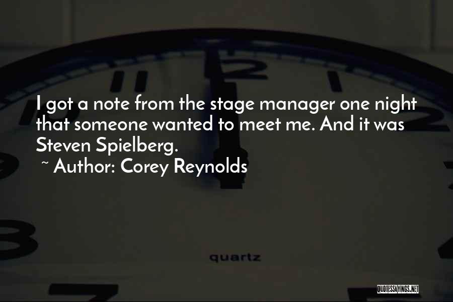 Corey Reynolds Quotes 513500