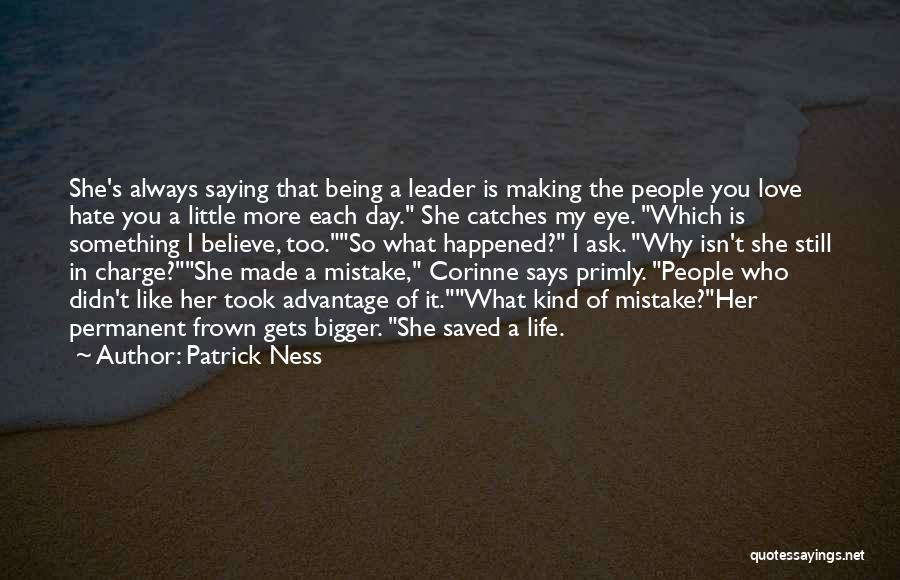 Corinne Day Quotes By Patrick Ness