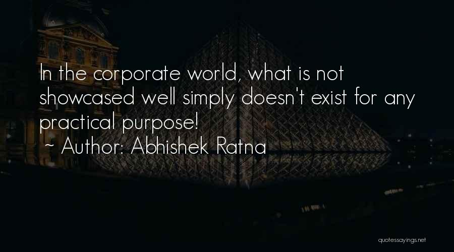 Corporate Culture Quotes By Abhishek Ratna