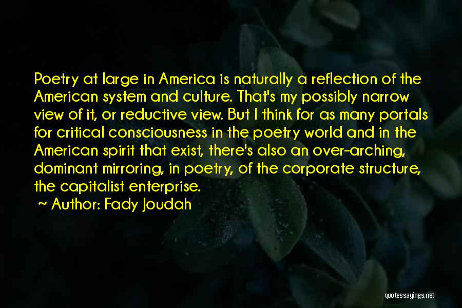 Corporate Culture Quotes By Fady Joudah