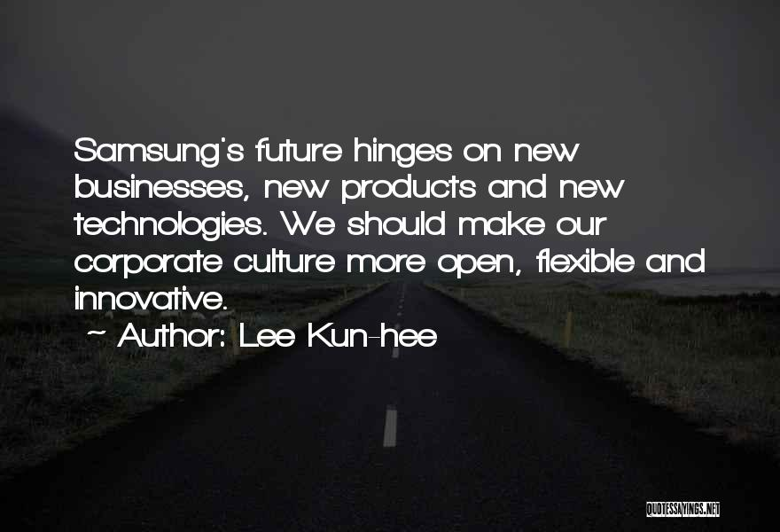 Corporate Culture Quotes By Lee Kun-hee