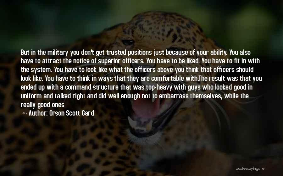 Corporate Culture Quotes By Orson Scott Card