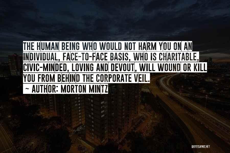 Corporate Veil Quotes By Morton Mintz