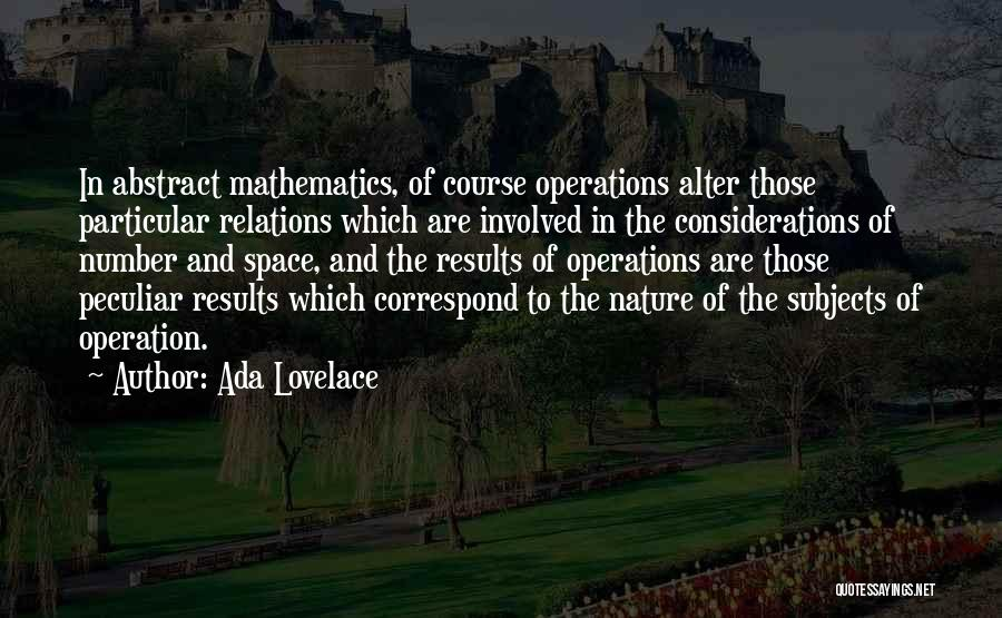 Correspond Quotes By Ada Lovelace