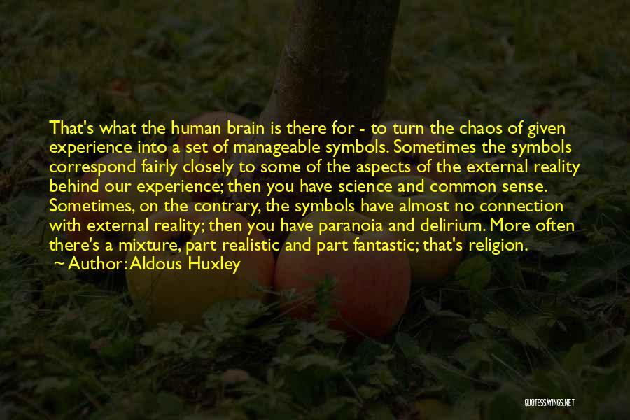 Correspond Quotes By Aldous Huxley