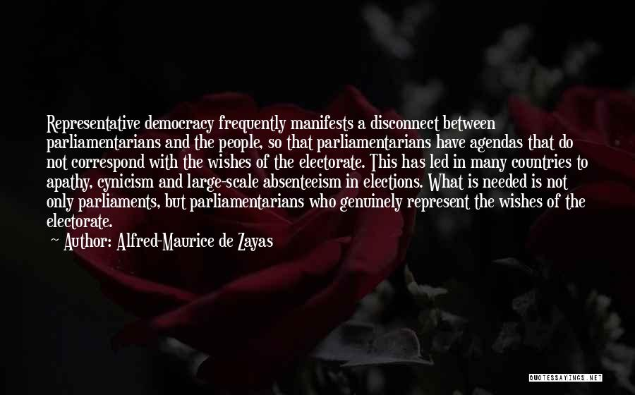 Correspond Quotes By Alfred-Maurice De Zayas