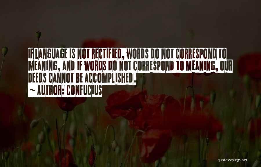 Correspond Quotes By Confucius