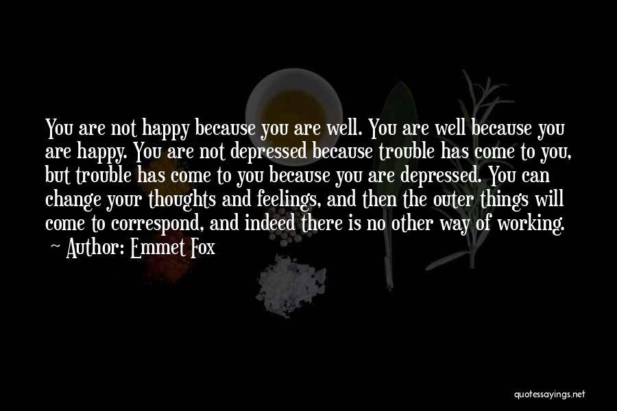 Correspond Quotes By Emmet Fox