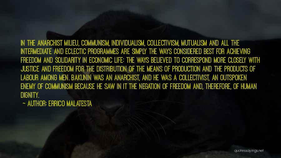 Correspond Quotes By Errico Malatesta
