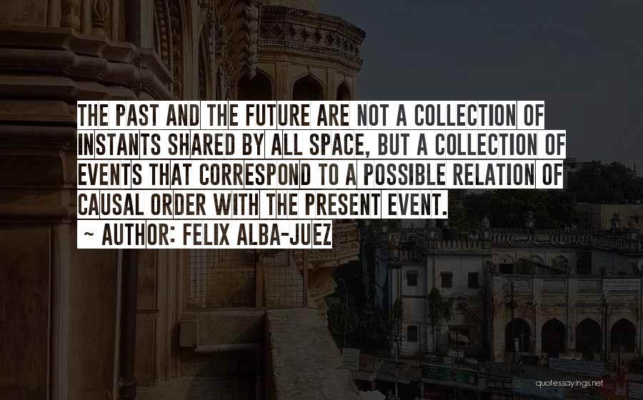 Correspond Quotes By Felix Alba-Juez